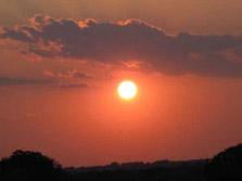 Wow Sun Set